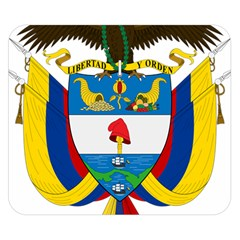 Coat of Arms of Colombia Double Sided Flano Blanket (Small)