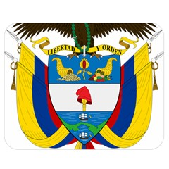 Coat of Arms of Colombia Double Sided Flano Blanket (Medium)