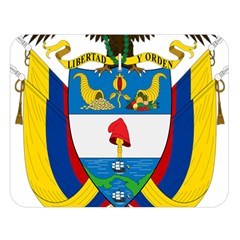 Coat of Arms of Colombia Double Sided Flano Blanket (Large)