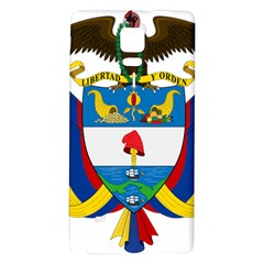 Coat of Arms of Colombia Galaxy Note 4 Back Case