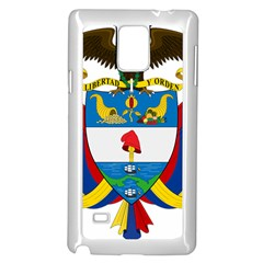 Coat of Arms of Colombia Samsung Galaxy Note 4 Case (White)