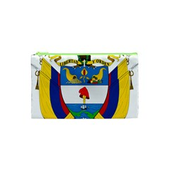 Coat of Arms of Colombia Cosmetic Bag (XS)