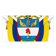 Coat of Arms of Colombia Satin Shawl
