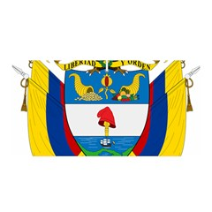 Coat of Arms of Colombia Satin Wrap