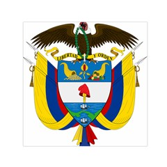 Coat of Arms of Colombia Small Satin Scarf (Square)