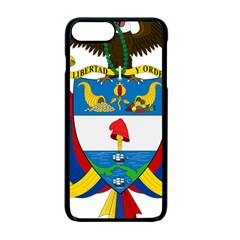 Coat of Arms of Colombia Apple iPhone 7 Plus Seamless Case (Black)
