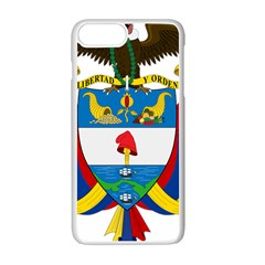 Coat of Arms of Colombia Apple iPhone 7 Plus White Seamless Case