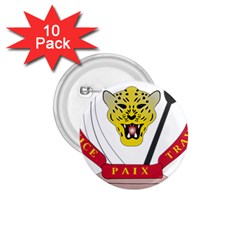 Coat of Arms of The Democratic Republic of The Congo 1.75  Buttons (10 pack)