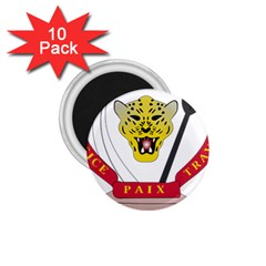 Coat of Arms of The Democratic Republic of The Congo 1.75  Magnets (10 pack)
