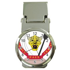 Coat of Arms of The Democratic Republic of The Congo Money Clip Watches