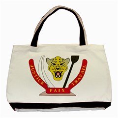 Coat of Arms of The Democratic Republic of The Congo Basic Tote Bag