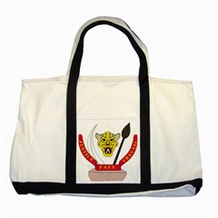 Coat of Arms of The Democratic Republic of The Congo Two Tone Tote Bag