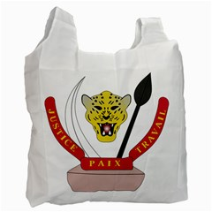 Coat of Arms of The Democratic Republic of The Congo Recycle Bag (Two Side)