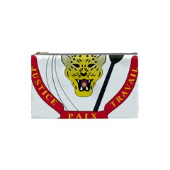 Coat of Arms of The Democratic Republic of The Congo Cosmetic Bag (Small)