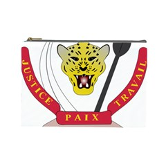 Coat of Arms of The Democratic Republic of The Congo Cosmetic Bag (Large)