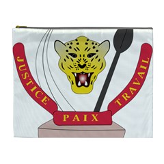 Coat of Arms of The Democratic Republic of The Congo Cosmetic Bag (XL)