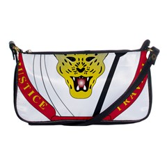 Coat of Arms of The Democratic Republic of The Congo Shoulder Clutch Bags