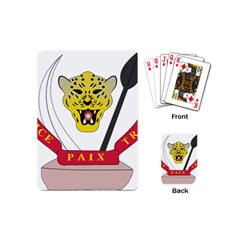Coat of Arms of The Democratic Republic of The Congo Playing Cards (Mini)
