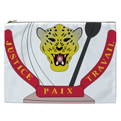 Coat of Arms of The Democratic Republic of The Congo Cosmetic Bag (XXL)