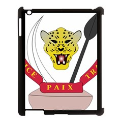 Coat of Arms of The Democratic Republic of The Congo Apple iPad 3/4 Case (Black)