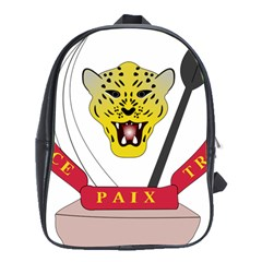 Coat of Arms of The Democratic Republic of The Congo School Bags (XL)