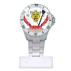 Coat of Arms of The Democratic Republic of The Congo Plastic Nurses Watch