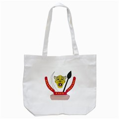 Coat of Arms of The Democratic Republic of The Congo Tote Bag (White)