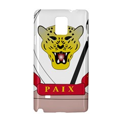 Coat of Arms of The Democratic Republic of The Congo Samsung Galaxy Note 4 Hardshell Case