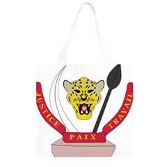 Coat of Arms of The Democratic Republic of The Congo Grocery Light Tote Bag