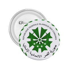 National Seal of the Comoros 2.25  Buttons