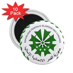 National Seal of the Comoros 2.25  Magnets (10 pack)
