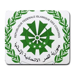National Seal of the Comoros Large Mousepads