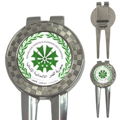 National Seal of the Comoros 3-in-1 Golf Divots