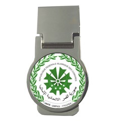 National Seal of the Comoros Money Clips (Round)