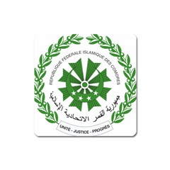 National Seal of the Comoros Square Magnet