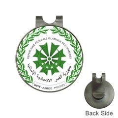 National Seal of the Comoros Hat Clips with Golf Markers