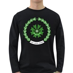 National Seal of the Comoros Long Sleeve Dark T-Shirts
