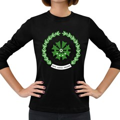 National Seal of the Comoros Women s Long Sleeve Dark T-Shirts
