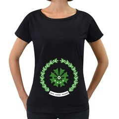 National Seal of the Comoros Women s Loose-Fit T-Shirt (Black)