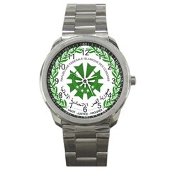 National Seal of the Comoros Sport Metal Watch
