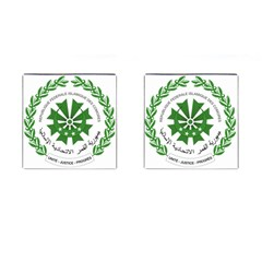 National Seal of the Comoros Cufflinks (Square)