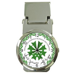 National Seal of the Comoros Money Clip Watches