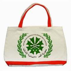 National Seal of the Comoros Classic Tote Bag (Red)