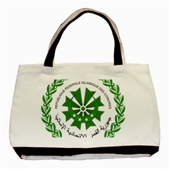 National Seal of the Comoros Basic Tote Bag (Two Sides)