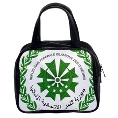 National Seal of the Comoros Classic Handbags (2 Sides)