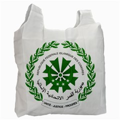 National Seal of the Comoros Recycle Bag (Two Side)