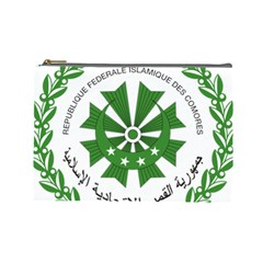 National Seal of the Comoros Cosmetic Bag (Large)