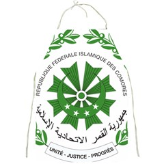 National Seal of the Comoros Full Print Aprons