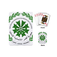 National Seal of the Comoros Playing Cards (Mini)