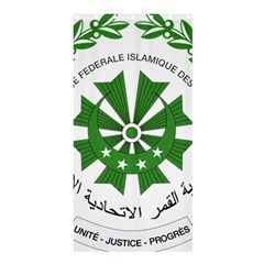 National Seal of the Comoros Shower Curtain 36  x 72  (Stall)